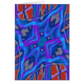Artistic Vibrant Texture Card