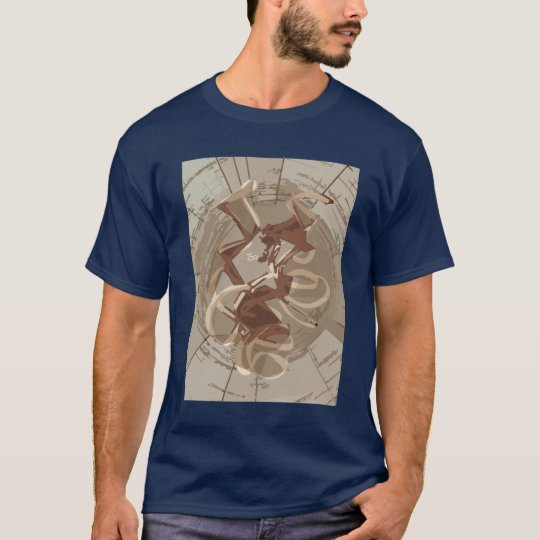 artistic view of ribosome active site T-Shirt