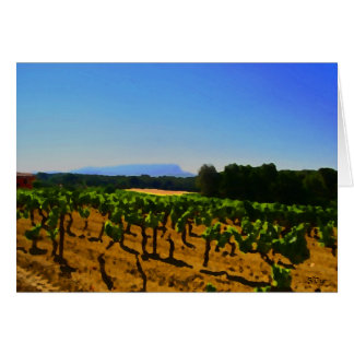 Artistic Vineyard, S Cyr Card