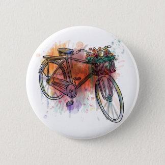 Artistic Vintage Bike 2 Inch Round Button