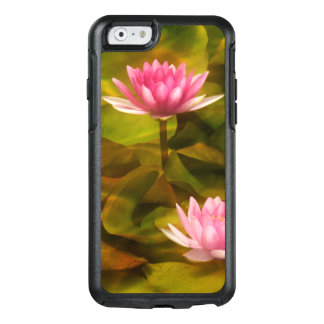 Artistic water lilies, California OtterBox iPhone 6/6s Case