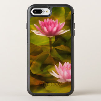 Artistic water lilies, California OtterBox Symmetry iPhone 8 Plus/7 Plus Case
