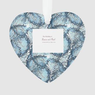 Artistic Wedding Heart Shape Ornament