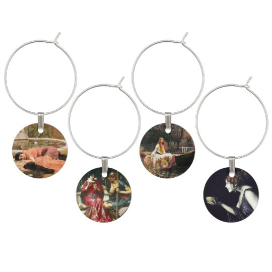 Artistic Wine Charms