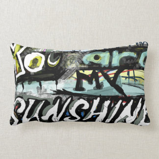 artistic you are my sunshine pillow