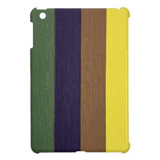 Artistically Designed Masculine Strips of Color iPad Mini Case