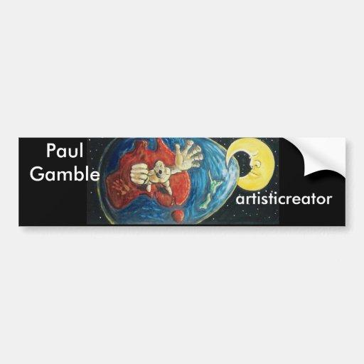 artisticreator bumpersticker bumper stickers
