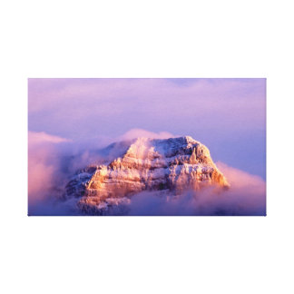 Artistry designed of the summit canvas print