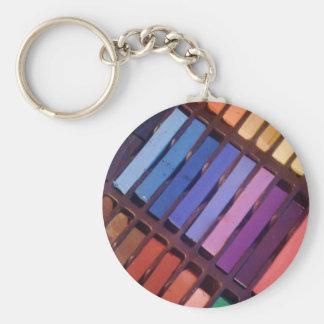 Artist's Color Pastels Keychain