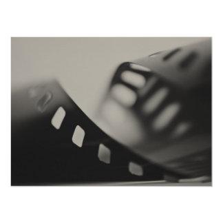 """Artists  Display works film 6.5"""" X 8.75"""" Invitation Card"""
