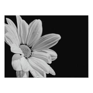 "Artists  Display works flower 6.5"" X 8.75"" Invitation Card"