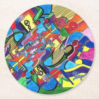 Artist's Dream round coaster