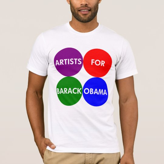 Artists for Obama 2012 T-Shirt
