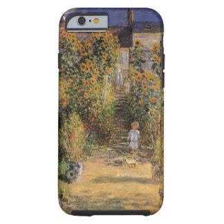 Artist's Garden at Vetheuil by Claude Monet Tough iPhone 6 Case