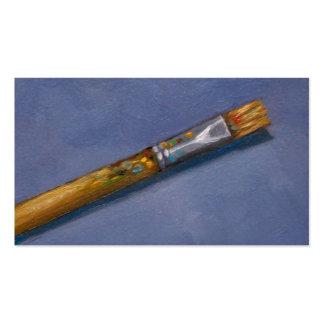 Artist's Paint Brush, Art, Craft Business Business Card
