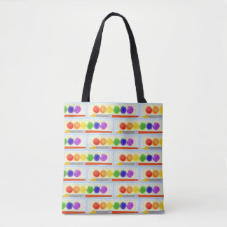 Artists Painters Paint Palette Box Brush Pattern Tote Bag