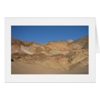"""Artist's Palette"" Death Valley, California Card"