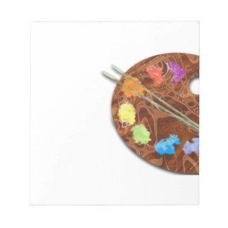 Artist's Palette Notepad