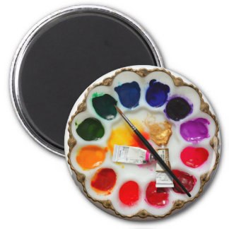 "Artist's Palette ""What Deviled Eggs?"" Magnet"