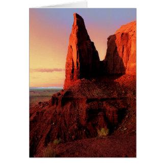 Artists Point / Monument Valley, Az. Card