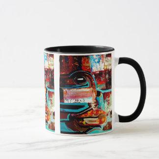 """Artists Selfie """"Pondering"""" Mug"""