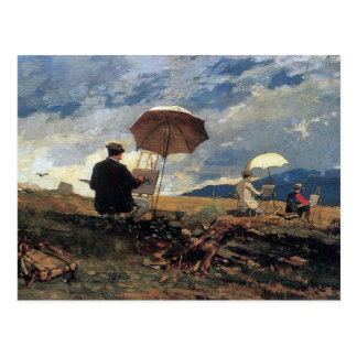 Artists Sketching by Winslow Homer Postcard