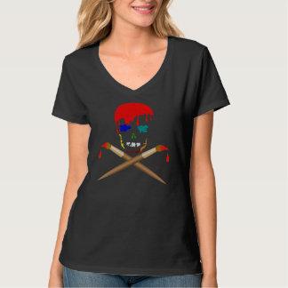 Artist's Skull & Crossbones T-Shirt