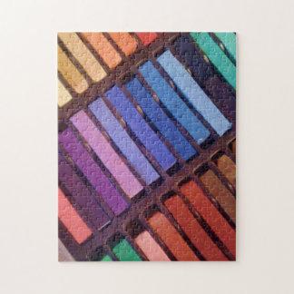 Artist's Soft Chalk Pastels Puzzle