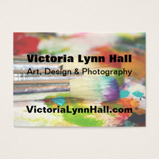 Artist's Tools Photography Business Card