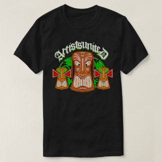 Artists United Triple Tiki Masks T-Shirt