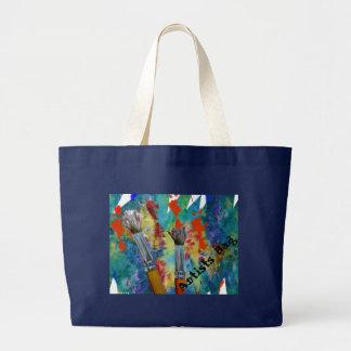 Artist's Work Large Tote Bag