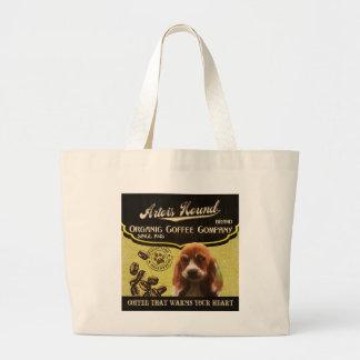 Artois Hound Brand – Organic Coffee Company Canvas Bags