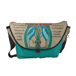 Arts and Crafts Cranes (Personalized) Messenger Bags