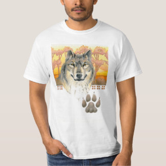 Arts and Crafts Wolf T-Shirt