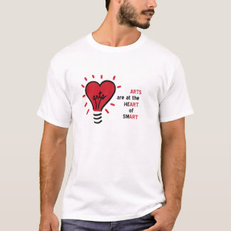 Arts Are at the Heart of Smart T shirt