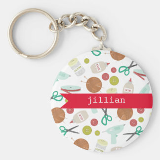 Arts & Crafts Personalized Keychain