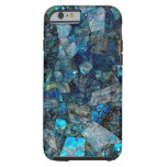 Artsy Abstract Labradorite Gems iPhone 6 Case Tough iPhone 6 Case