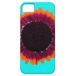 Artsy and Abstract Autumn Sunflower Case For iPhone 5/5S