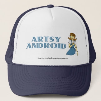 Artsy Android Hat