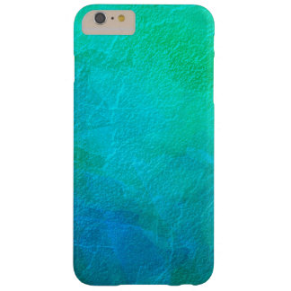 Artsy Aquamarine Ice Abstract Art Barely There iPhone 6 Plus Case
