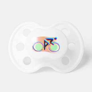 Artsy Bicycling Pacifiers