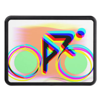 Artsy Bicycling Trailer Hitch Cover