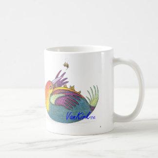 Artsy Bird and Bee Mug