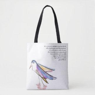 Artsy Bird Tote