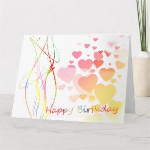 Artsy Birthday Cards