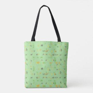 Artsy design tote bag