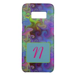 Artsy Galaxy S8 Case Custom Initial