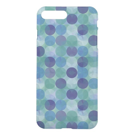 Artsy Geometric Circles Pattern iPhone 8 Plus/7 Plus Case