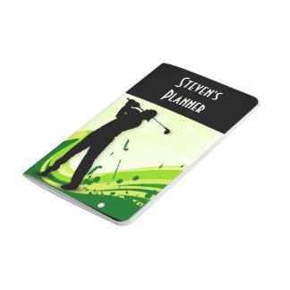 Artsy Golf Player Journal