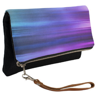 Artsy Gradient Color Clutch